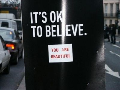 It's ok to believe