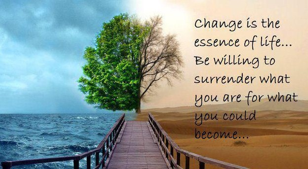 Change is the essence of life - Eric Thomas