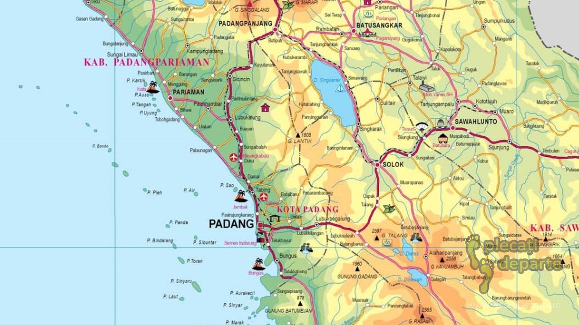 Detailed Indonesia Maps Hărți Detaliate Indonezia