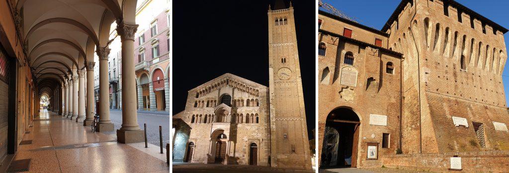 Ce vezi în Bologna, Parma si Lugo? Obiective turistice și mâncăruri în 3 orașe din nordul Italiei. bologna parma lugo obiective turistice mancaruri traditionale italia